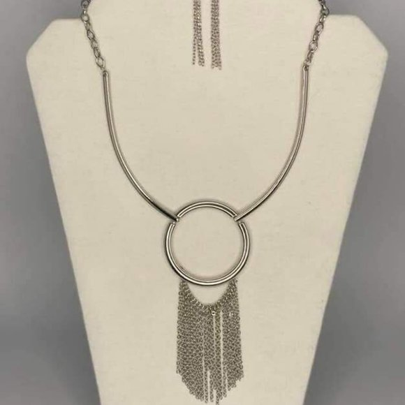 Pharaoh Paradise Silver Necklace